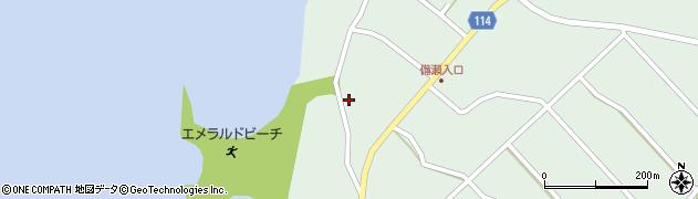 備瀬・マリンレジャー周辺の地図