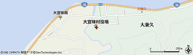 沖縄県国頭郡大宜味村周辺の地図