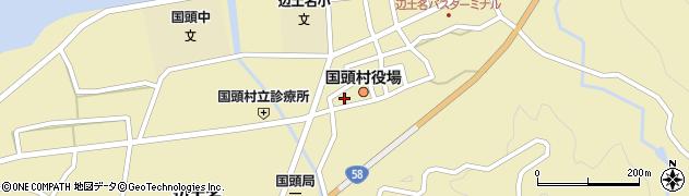 沖縄県国頭郡国頭村周辺の地図