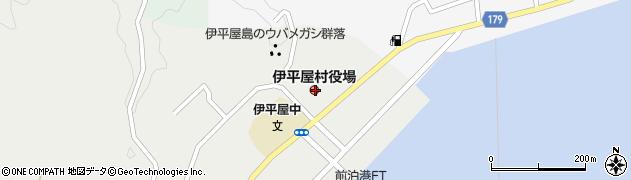 沖縄県島尻郡伊平屋村周辺の地図