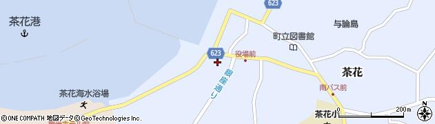 鹿児島県大島郡与論町周辺の地図
