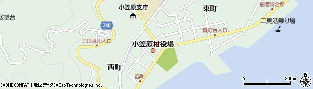 東京都小笠原村周辺の地図