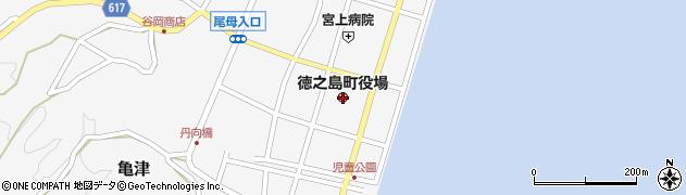 鹿児島県大島郡徳之島町周辺の地図