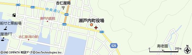 鹿児島県大島郡瀬戸内町周辺の地図