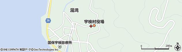 鹿児島県大島郡宇検村周辺の地図