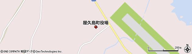 鹿児島県熊毛郡屋久島町周辺の地図