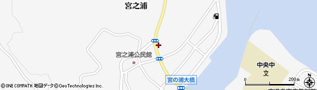 岩川釣具店周辺の地図