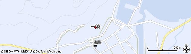 鹿児島県屋久島町(熊毛郡)一湊周辺の地図