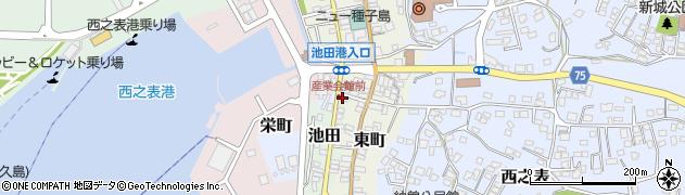 池島勇鮮魚店周辺の地図