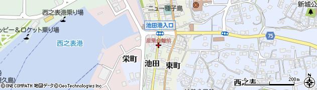 産業会館前周辺の地図