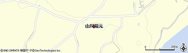 鹿児島県指宿市山川福元周辺の地図