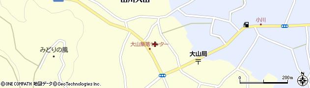 大仙寺周辺の地図