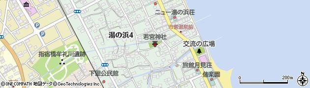 若宮神社周辺の地図