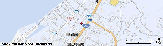 天松院周辺の地図