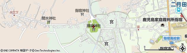 揖宿神社周辺の地図