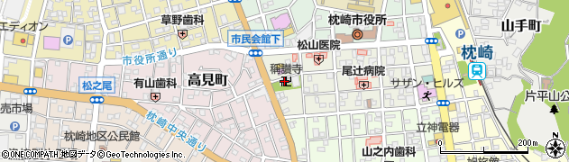 称讃寺周辺の地図