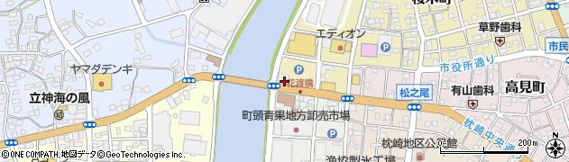 鹿児島銀行坊津出張所周辺の地図