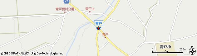 青戸周辺の地図