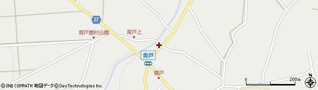 頴娃町青戸周辺の地図