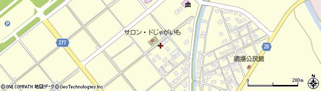 鹿児島県南さつま市加世田高橋周辺の地図