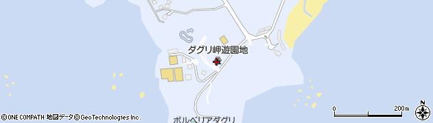 ダグリ岬遊園地周辺の地図