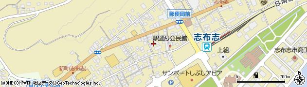 鹿児島県志布志市志布志町志布志周辺の地図