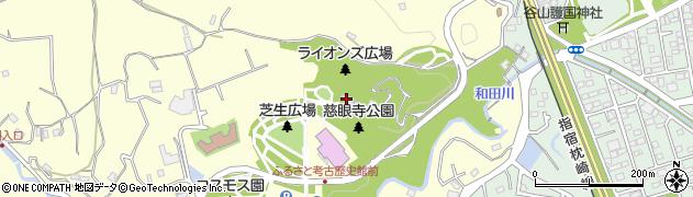 谷山神社周辺の地図
