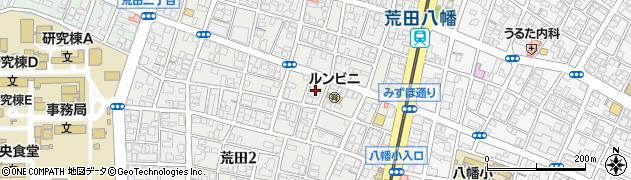 西本願寺周辺の地図