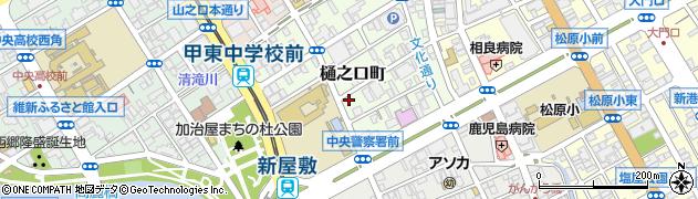 鹿児島県鹿児島市樋之口町周辺の地図