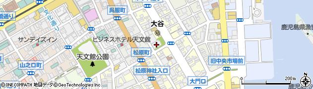 東本願寺周辺の地図