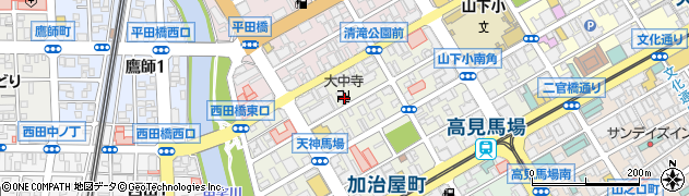 大中寺周辺の地図