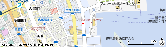 鹿児島県鹿児島市住吉町周辺の地図