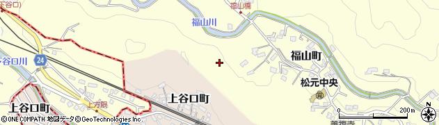 鹿児島県鹿児島市福山町周辺の地図