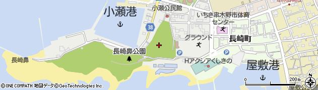鹿児島県いちき串木野市小瀬町周辺の地図