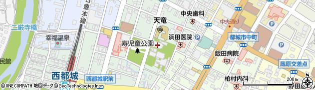 摂護寺周辺の地図