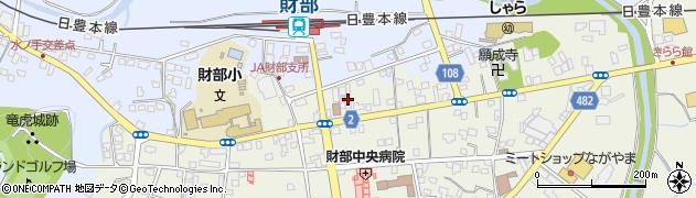 鹿児島銀行財部支店 ATM周辺の地図