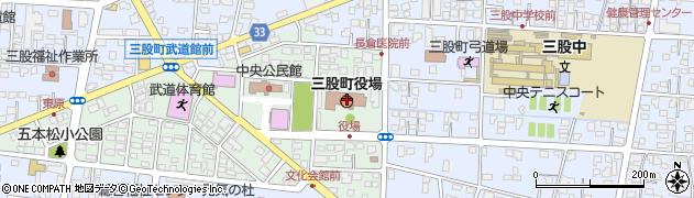 宮崎県北諸県郡三股町周辺の地図