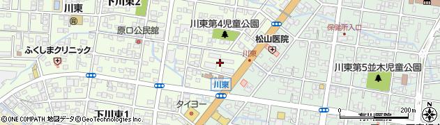 市営西之前団地周辺の地図