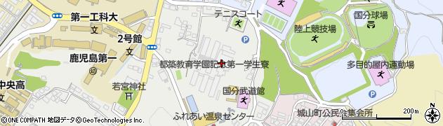 都築教育学園第一学生寮周辺の地図