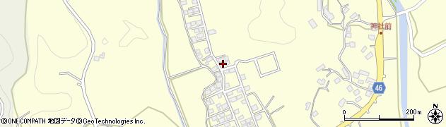 鹿児島県薩摩川内市東郷町斧渕7072周辺の地図