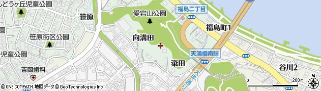宮崎県宮崎市大坪町周辺の地図