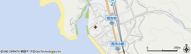 潮見寺周辺の地図