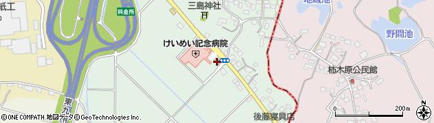宮崎県東諸県郡国富町岩知野周辺の地図