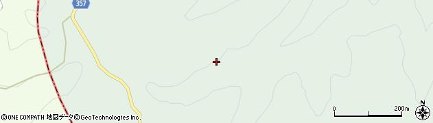 宮崎県東諸県郡綾町南俣梅ケ野周辺の地図