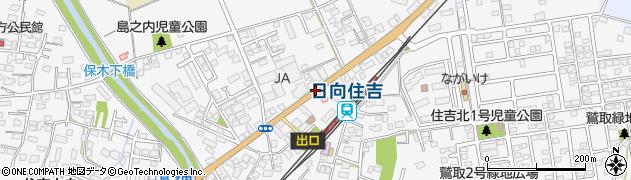 住吉駅前周辺の地図