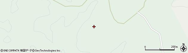 宮崎県東諸県郡綾町南俣陣之尾周辺の地図