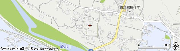 宮崎県東諸県郡綾町入野宮原周辺の地図
