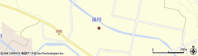 宮崎県東諸県郡国富町深年永田周辺の地図