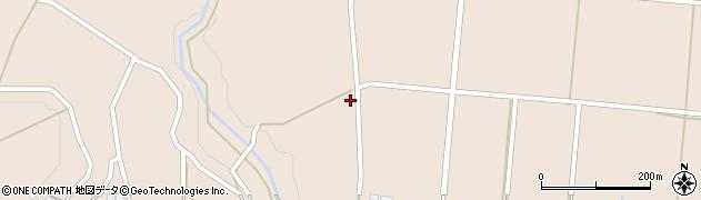 宮崎県小林市真方周辺の地図
