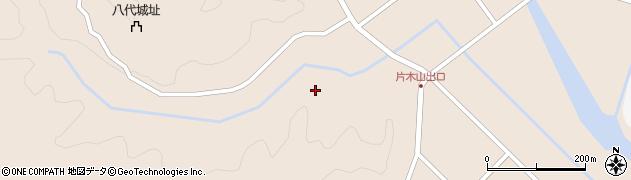 宮崎県東諸県郡国富町八代南俣片木山周辺の地図
